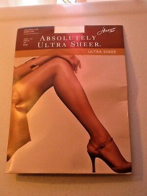 43f0212af Hanes Absolutely Ultra Sheer Control Top Sheer Toe Panty Hose Style 707 Sz  A Jet