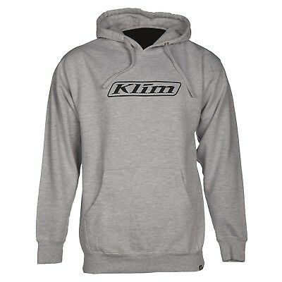 Klim Word Pullover Hoodie Black/White Mens All Sizes