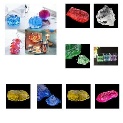 200g/500g Paraffin Gel Jelly Wax for Candle Making, crystal jelly, 6 colors