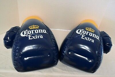 Corona Extra Boxing Gloves One Pair Inflatable Blow Up Sign New