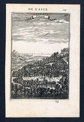 1683 - Antakya Daphne Turkey engraving