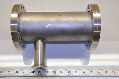"""MDC Manufacturing Stainless Tee Fitting, 4.75"""" Main Flange Diameter, 2.125"""""""