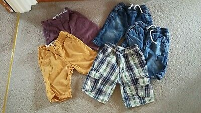 Bundle of Boys Shorts Age 7 by Next and Nutmeg