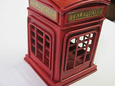 Phone Booth  Metal Home Decor, Shop,garage Bar, Vintage Look Collectors Gift