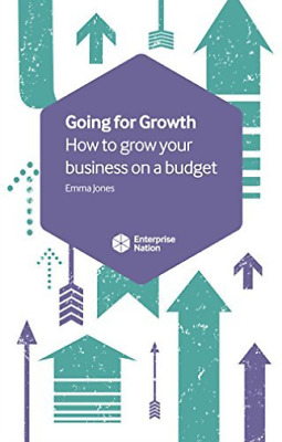 Jones-Going For Growth  BOOK NEW