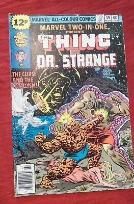 Marvel Two-In-One #49 Thing & Dr. Strange 1979 FN- P&P Discounts