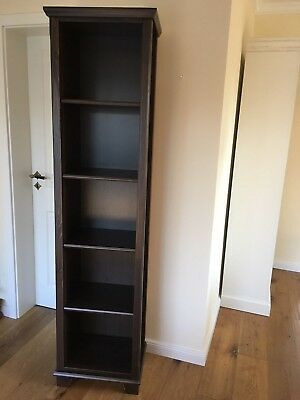 Top Ikea Hemnes Bücherregal Dunkles Holz Design Regal Schrank