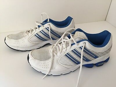 best sneakers 248c7 7af66 Adidas Mens Trainers, White Blue, UK size 12, FTY No. PYV