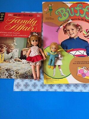 Whitman Paper Doll Buffy Book Family Affair Comic Buffy Doll & Mrs. Beasley Doll