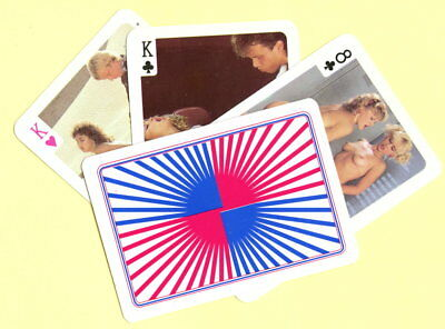 Spielkarten playing cards Pin-Up adult Nude Erotic Sexy erotik GR 1995 E8.161a