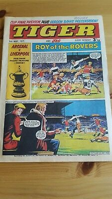 Tiger Comic 8.5. 1971 FA Cup Final Preview - Roy of The Rovers