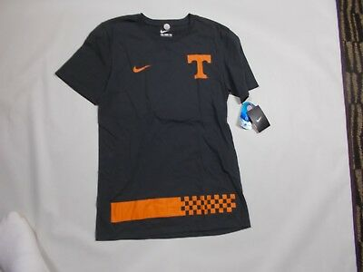 ab14449b7 Nike Dri-Fit Tennessee Volunteers Charcoal T Shirt Mens athletic cut S