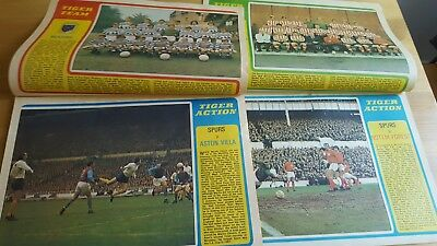 Tiger & Jag Comic x 2 Issues 1971 - Spurs Action Features