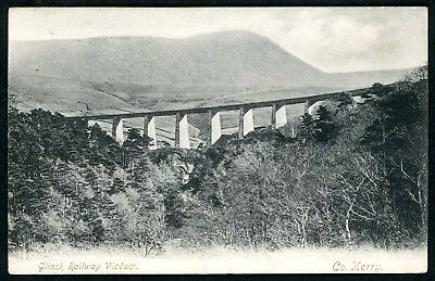 Glinsk or Gleensk Viaduct, GS&WR Valentia Harbour to Farranfore Co Kerry c1906