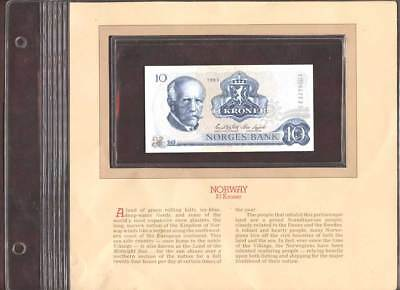 Norway 10 Kroner-Original Limited Edition History Cover