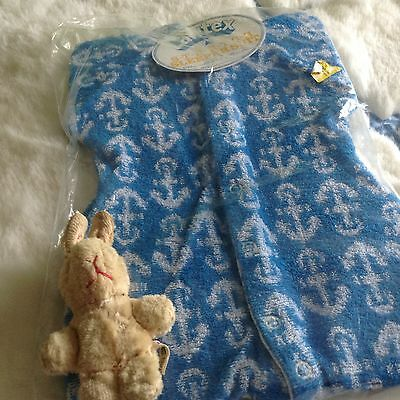VINTAGE AUTHENTIC CLOTHING INFANT CHILDRENS BABY GR0 3/6 months 70s NEW