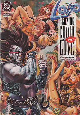 Lobo: Blazing Chain Of Love #1 1992 Dc Giffen//grant//cowan  Nm-