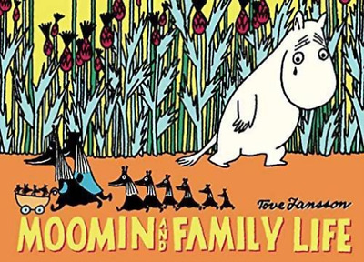 Tove Jansson-Moomin And Family Life  Book New