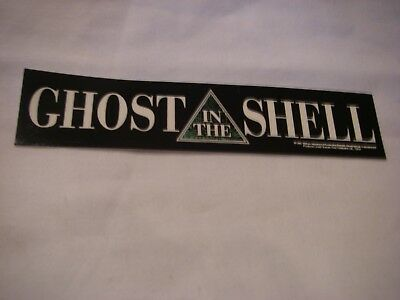 Ghost In The Shell Vinyl Sticker 1996 Promo Tokyo New