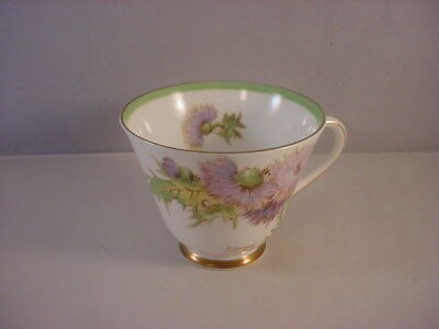 Vintage Royal Doulton Bone China Tea Cup Glamis Thistle Pattern England