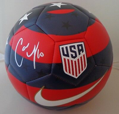 b34c08b49 Carli Lloyd signed Size 5 Nike USA Prestige Soccer Ball Team USA Womens