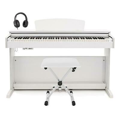 DP-10X Digital Piano by Gear4music + Accessory Pack White