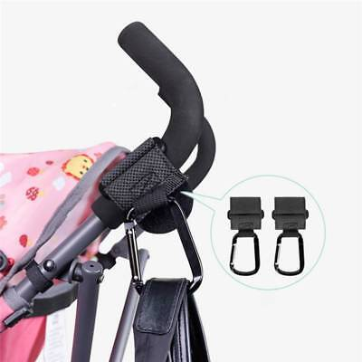 2Pcs Baby Stroller Pram Multipurpose Baby Car Velcro Anti-slip Hook Clip Holder