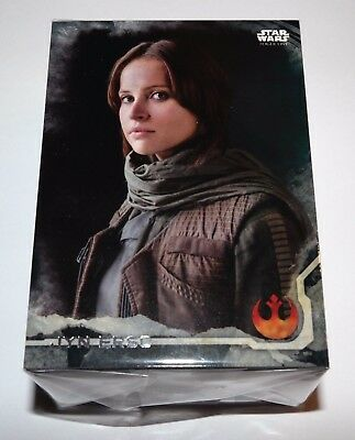 Star Wars Rogue One Series 1 Death Star Black Parallel Set of 90 Cards Jyn Erso