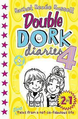 Double Dork Diaries #4 by Rachel Renee Russell (Paperback, 2017)