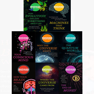 New Scientist Instant Expert 8 Books Collection Pack Set How Your Brain Works PB