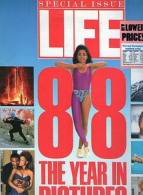 Life Magazine January 1989 Special Issue1988 In Pictures