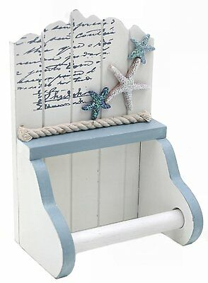 Toilet / Loo Paper Roll Holder - Nautical, Seaside theme - Starfish