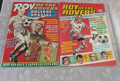 Two Roy of the Rovers comics