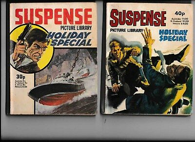 2 Suspense Holiday Special Picture Library Comics