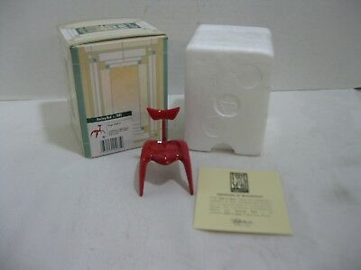 Take a Seat Raine Collection Racing Red Chair C1991 #24035
