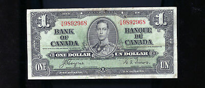 1937 Bank of Canada $1 Coyne Towers BL3665