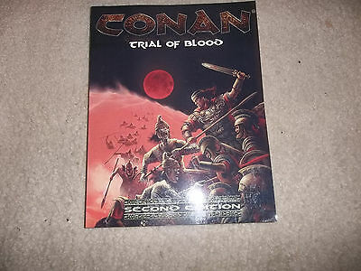 D&D D20 Mongoose Conan RPG 2nd Ed Trial of Blood