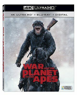War for the Planet of the Apes (4K Ultra HD Blu-ray Disc ONLY, 2017)