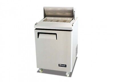 Migali C-SP27-8 Sandwich Prep Table - One Solid Door