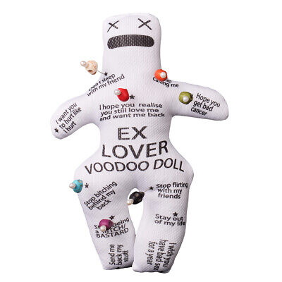 Authentic Personalised Revenge Voodoo Doll With 7pcs Skull Pins  New Orleans
