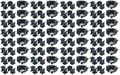 """(32) Chauvet CLP10 CLP-10 360°  Wrap Around """"O"""" Clamps For Light Mounting"""