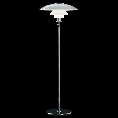 A13 Modern Style Stainless Steel+Glass Living Room Bedroom Floor Lamp