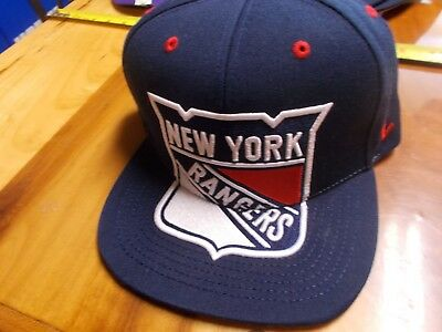 innovative design 98f48 02cb1 New York Rangers Hat Cap By Zephyr NHL Hats