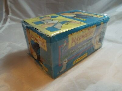 POCAHONTAS SEALED BOX OF STICKERS, 100 packs by Panini