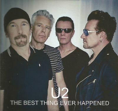 U2 THE BEST THING EVER HAPPENED Compilation with ALL 2017/2018 TV NEW & sealed
