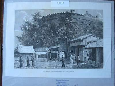 93611-Asien-Asia-China-Han-Tchong-Fou-T Holzstich-Wood engraving