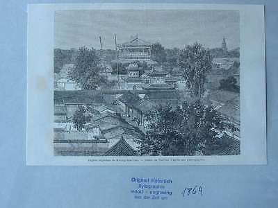 93512-Asien-Asia-China-Peking-Beijing-T Holzstich-Wood engraving