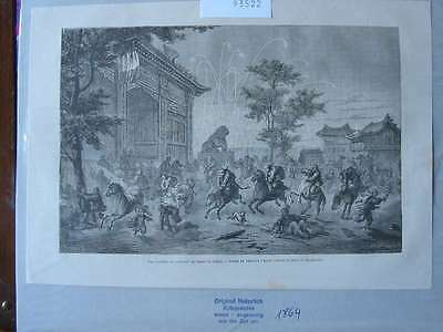 93522-Asien-Asia-China-Peking-Beijing-T Holzstich-Wood engraving