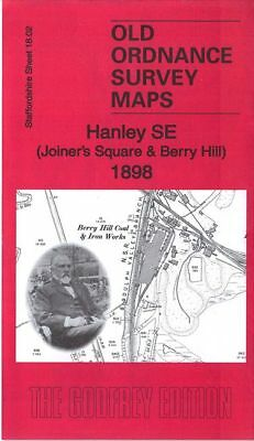 Old Ordnance Survey Map Hanley Se Joiners Square Berry Hill 1898