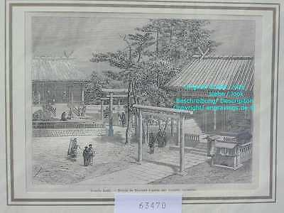 63470-Asien-Japan-Nippon-Nihon-Tempel Kami-TH-1865